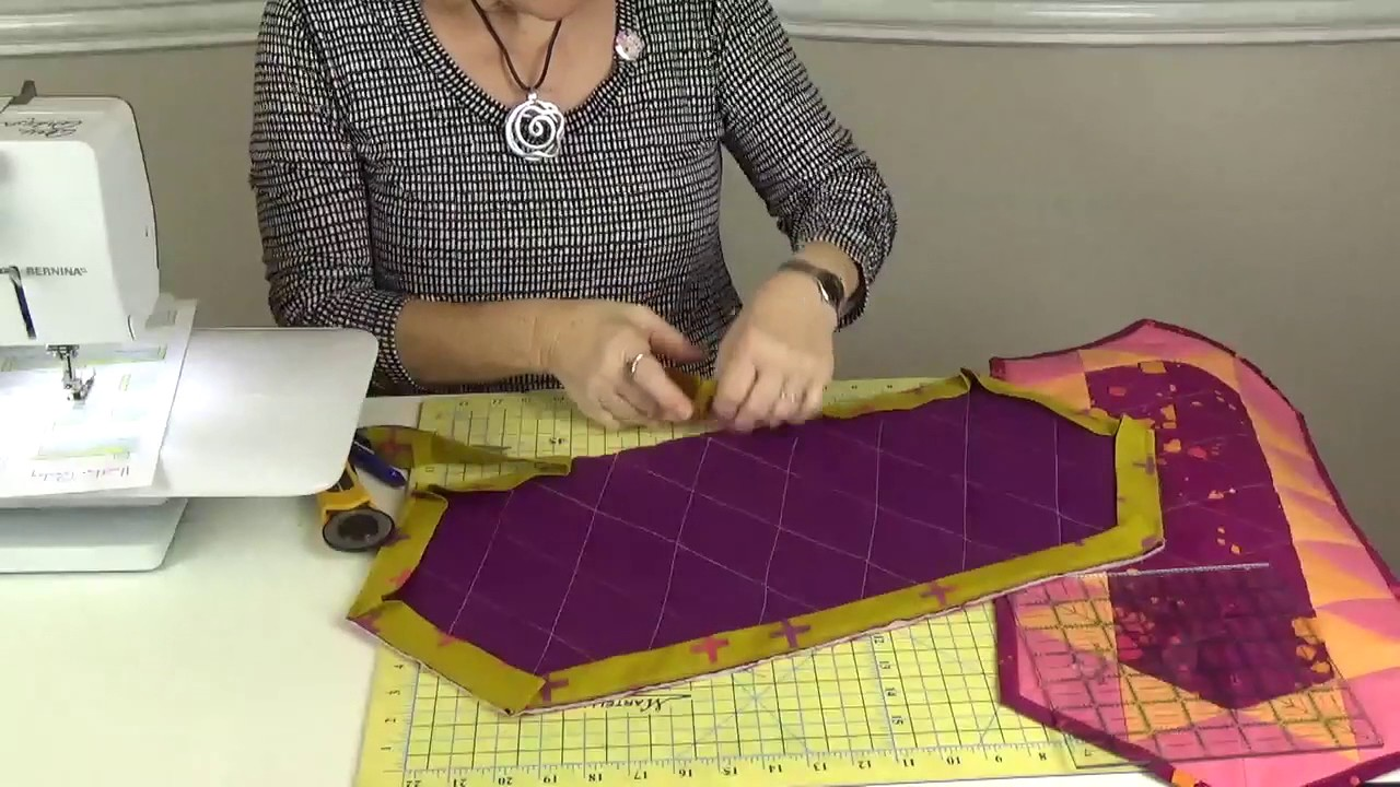 Easy + Quick Quilt Binding by Machine - YouTube : easy quilt binding by machine - Adamdwight.com