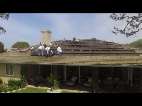 ABC Solar Awesome Solar installation Drone Video with Wow action!