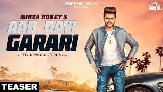 Aad Gayi Garari (Teaser) Mirza Honey | White Hill Music  | Releasing on 25th April