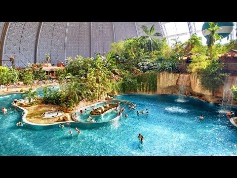 Вауу! Tropical Islands Берлин)) Крупнейший в мире крытый аквапарк