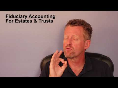 Fiduciary Accounting for Estates & Trusts, IA