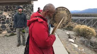 Drepung Loseling Monks | Taos, NM- Healing in A Conflicted World - Bridge Blessing Reverend Yamato