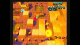 Ms. Pac-Man Maze Madness PlayStation Gameplay_2000_06_19_2