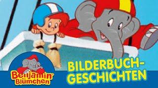 Benjamin Blümchen als Ballonfahrer BILDERBUCH GESCHICHTEN