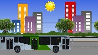 Машинки Трамвай Троллейбус Автобус Развивающий мультик