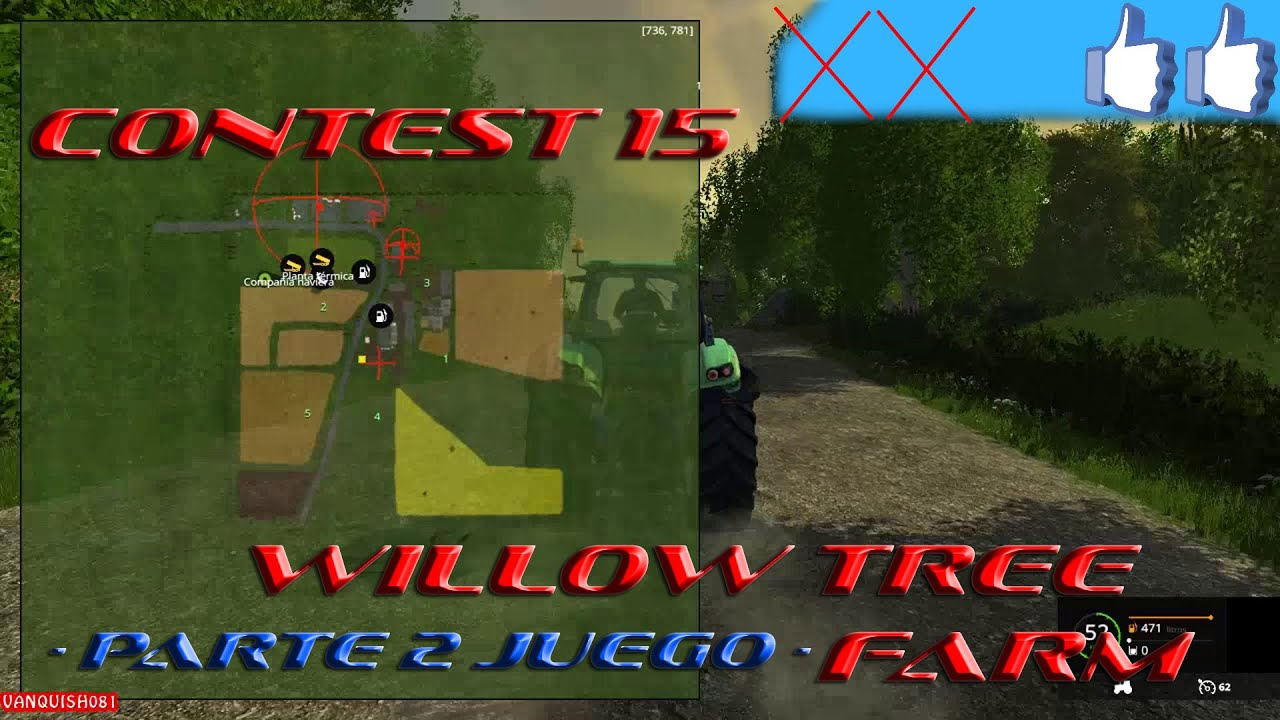 Review Willow Tree Farm Parte Juego FS Contest YouTube - Southern norway map fs15