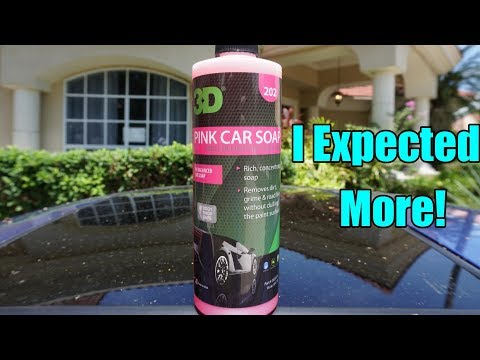 3D Pink Car Soap Review on my Honda Prelude