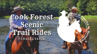Cook Forest Scenic Trail Rides - PA (2018)