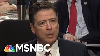 President Donald Trump Team Destroying Careers Of Comey Witnesses One By One | Rachel Maddow | MSNBC