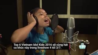 Hồ Văn Cường tập hát nhạc phim Tấm Cám
