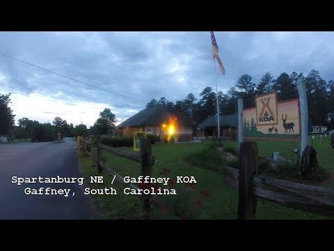Spartanburg NE / Gaffney KOA Campground | Tour | RV Park | 2017 | South Carolina | USA