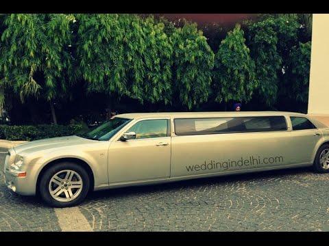 limousine in delhi original by weddingindelhi.com