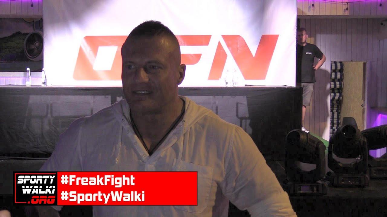 Szef Open Fights Night o starcie nowej federacji freak fight