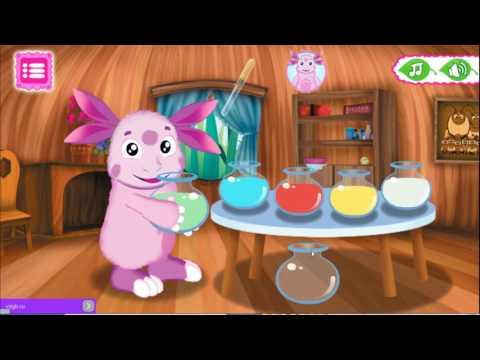Лунтик мини игры лунтик игра видео смотреть для малышей