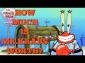 How Much is Mr. Krabs Worth?