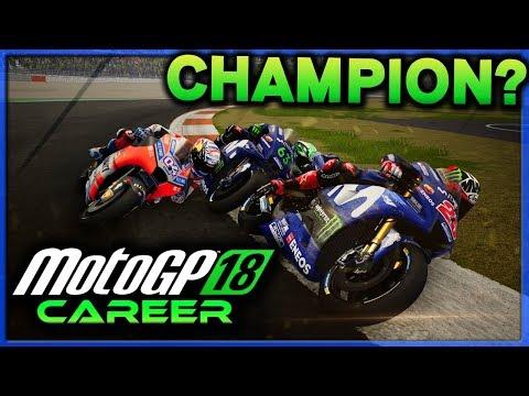 BECOMING MOTOGP CHAMPION??? | MotoGP 18 Career Mode Part 50 (MotoGP 2018 Game PS4)