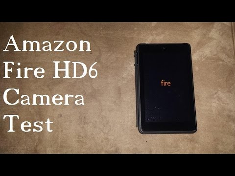 Fire HD6 Camera Review & Picture Test