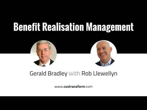 Benefit Realisation Management with Gerald Bradley