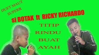 Duet maut.. Afgan Gadut ft. Ricky Richardo // TITIP RINDU BUAT AYAH // manggarai terbaru
