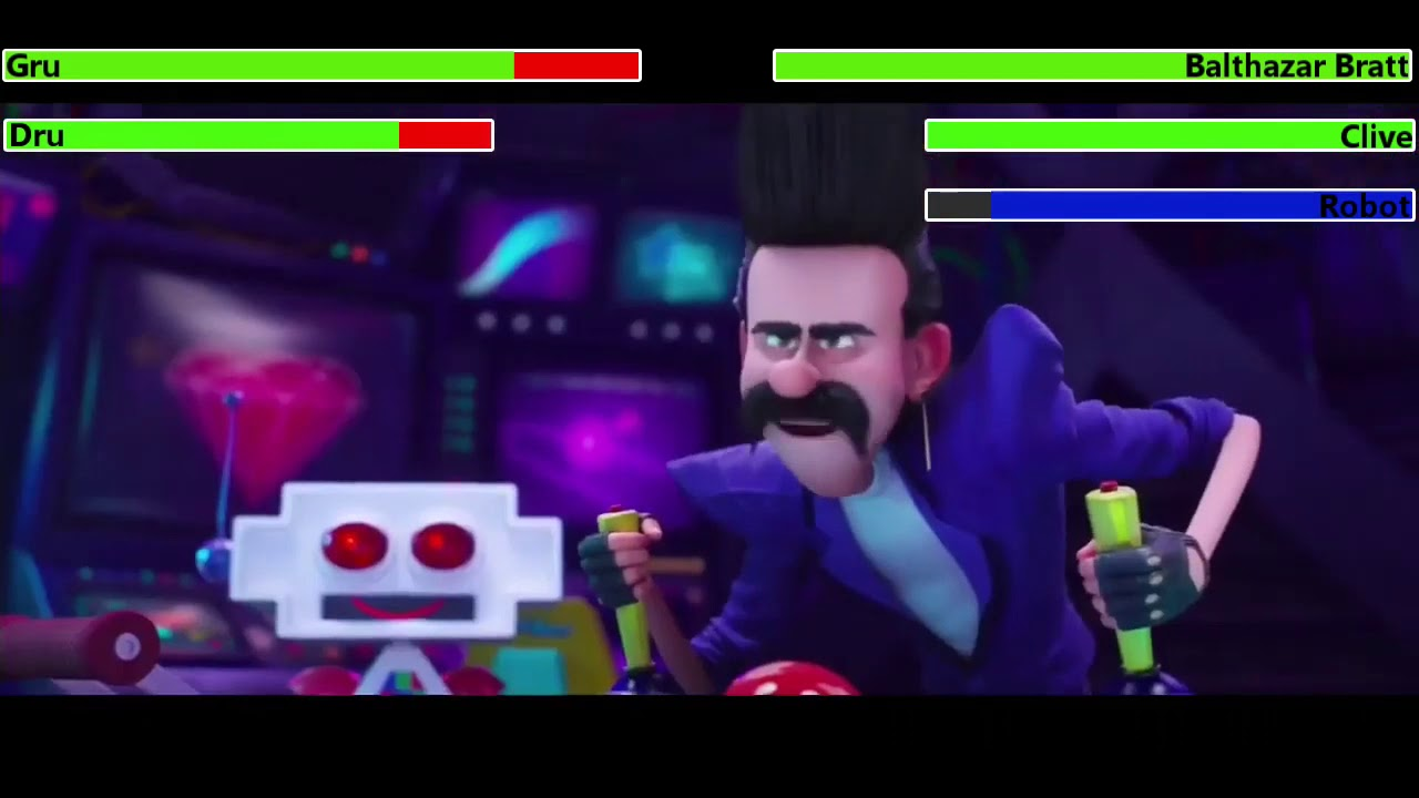 Download Despicable Me 3 Final Battle with healthbars 2/2 (10K Subscriber Special)