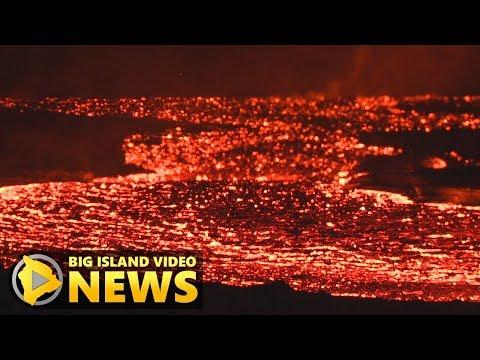 Hawaii Volcano Eruption Update - Sunday Morning (July 22, 2018)