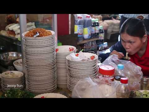 Amazing Food In Cambodia - Khmer Street Food Compilation - Asian Food