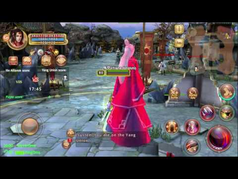 Age of Wushu Dynasty Faction War w/ Rg chain and ancient taichi