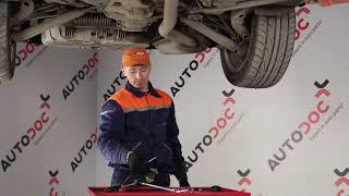 BMW Stabilizátor rúd szilent kiszerelése - video útmutató
