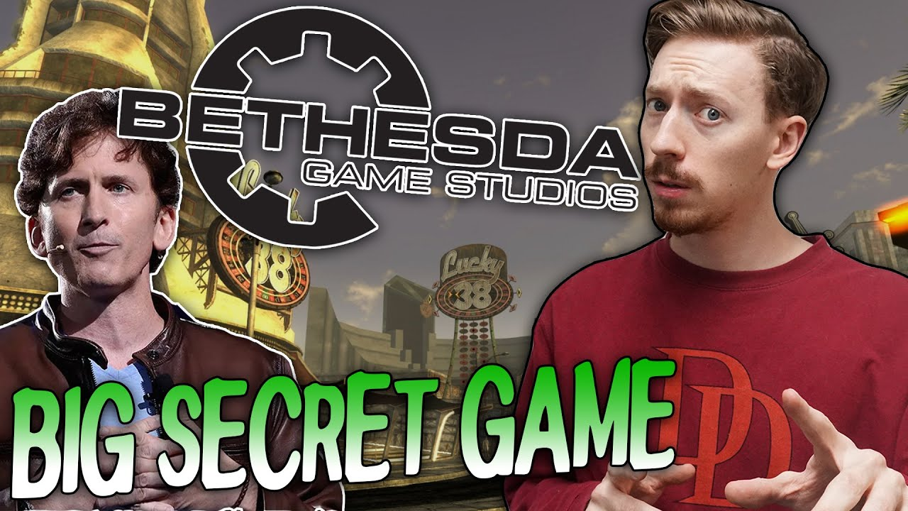 Download Bethesda Game Studios Has A NEW SECRET Game In Development...