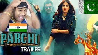 Parchi Official Trailer | Hareem Farooq & Ali Rehman Khan | INDIAN REACTS TO PAKISTANI MOVIE TRAILER