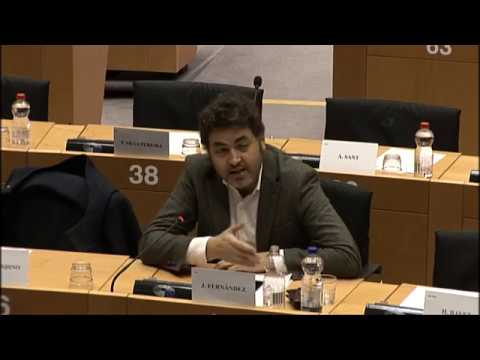 Intervención con el Vicepresidente de la Comisión Dombrovskis