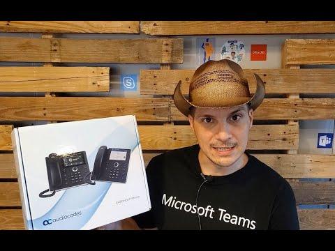 AudioCodes C450HD Setup, Firmware Upgrade, & Config Profile via the  Microsoft Teams Admin Center