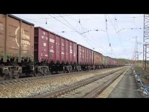 Cмотреть видео Электровоз ВЛ11-468/476