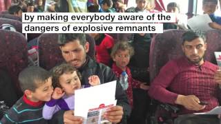 Making the return home safe - Mosul - Handicap International