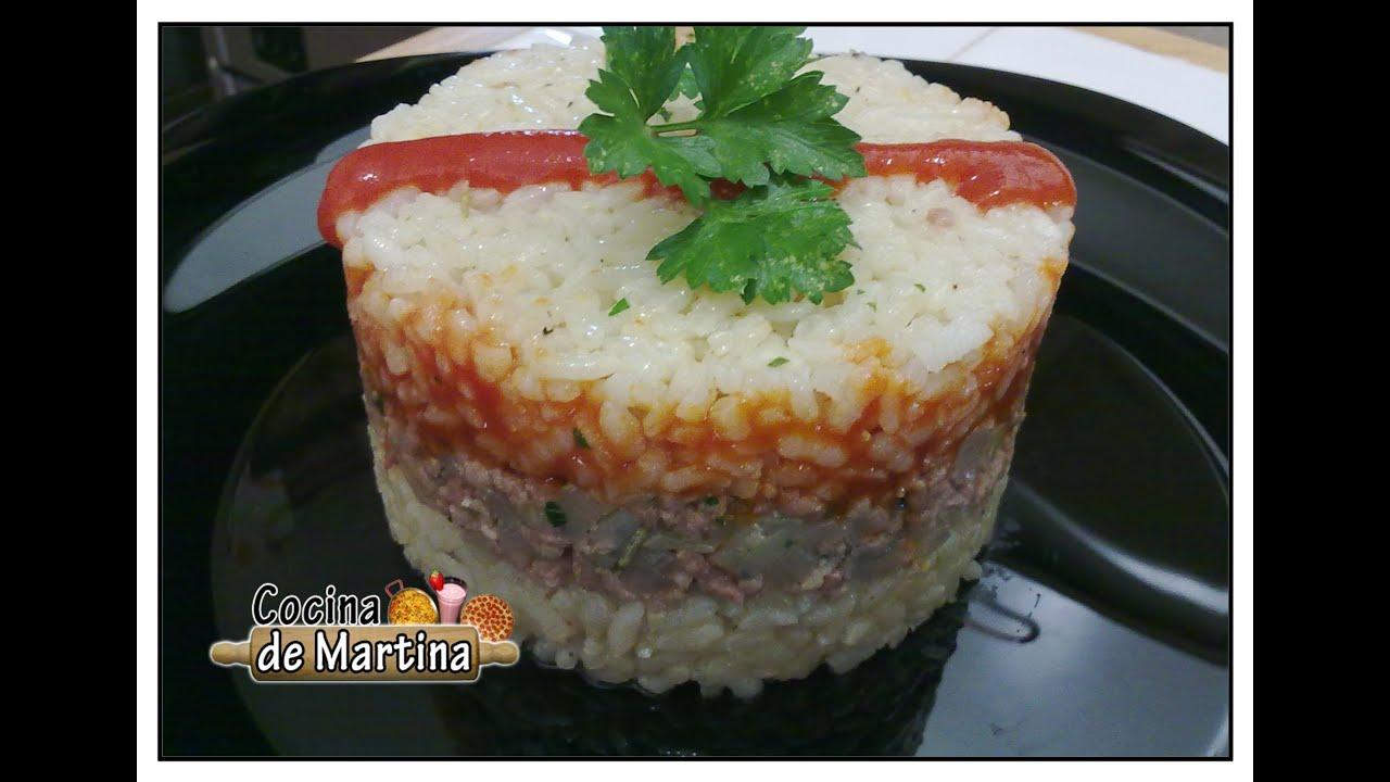 Pastel de arroz recetas de aprovechamiento cocina de for Cocina de aprovechamiento