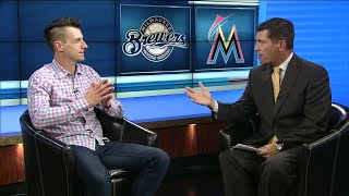 Lance Allan 1-on-1 with Brewers skipper Craig Counsell