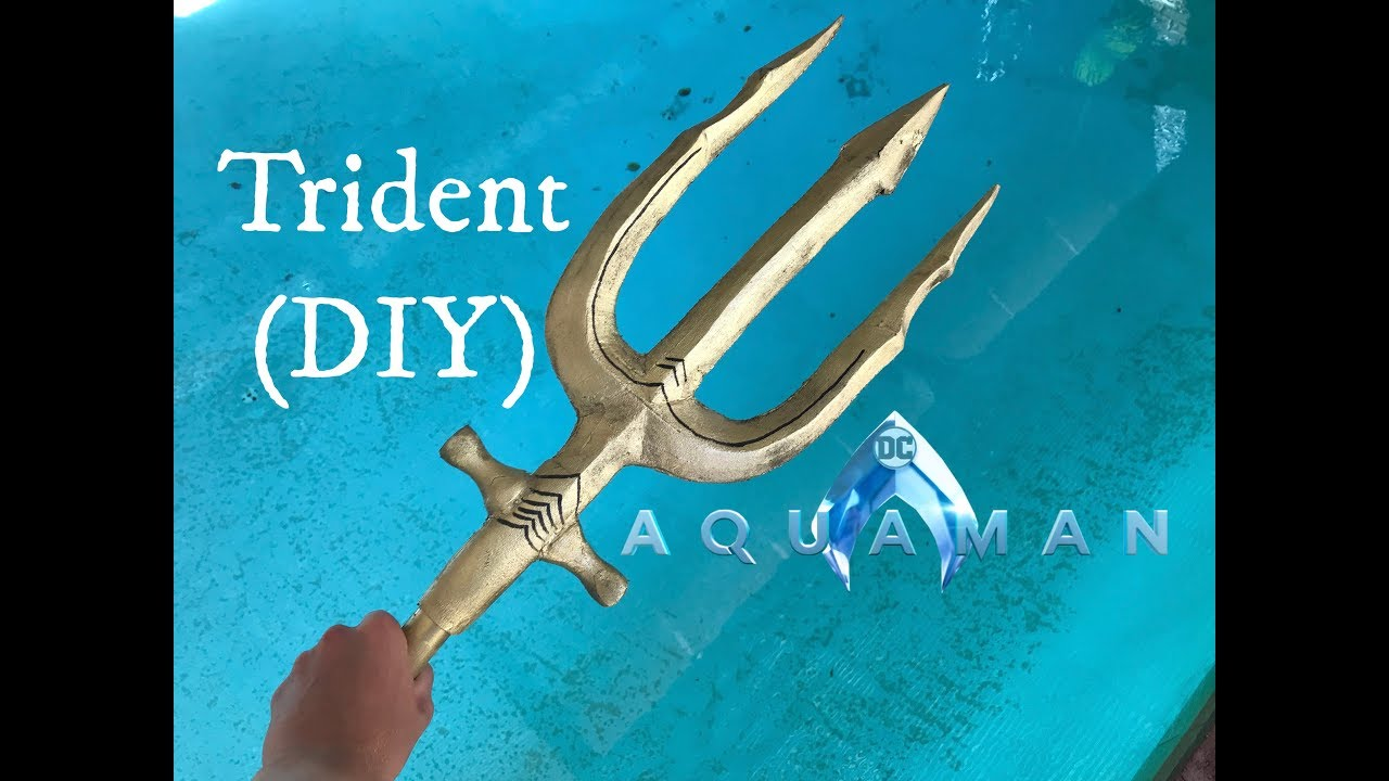 How to make Aquaman's Trident! (DIY)