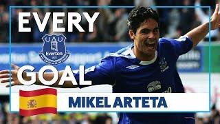 MIKEL ARTETA: EVERY EVERTON GOAL!