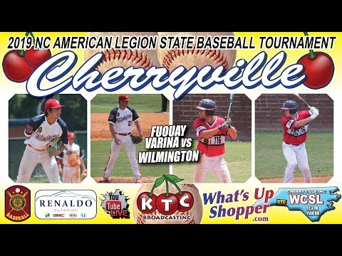 Wilmington Vs Fuquay Varina - NC American Legion Baseball Tournament