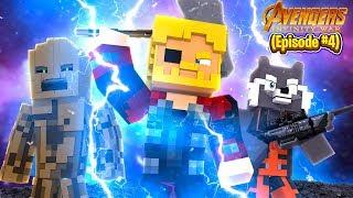 Minecraft Adventure - THE AVENGERS INFINITY WAR #4