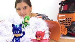 ToyClub шоу - Герои в масках - Кэтбой и Алетт ищут Гекко