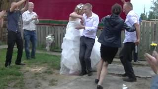 Наша свадьба в деревне!)