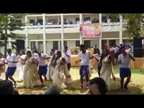 Best ever college dance banglore TJCP-ONAM CELEB