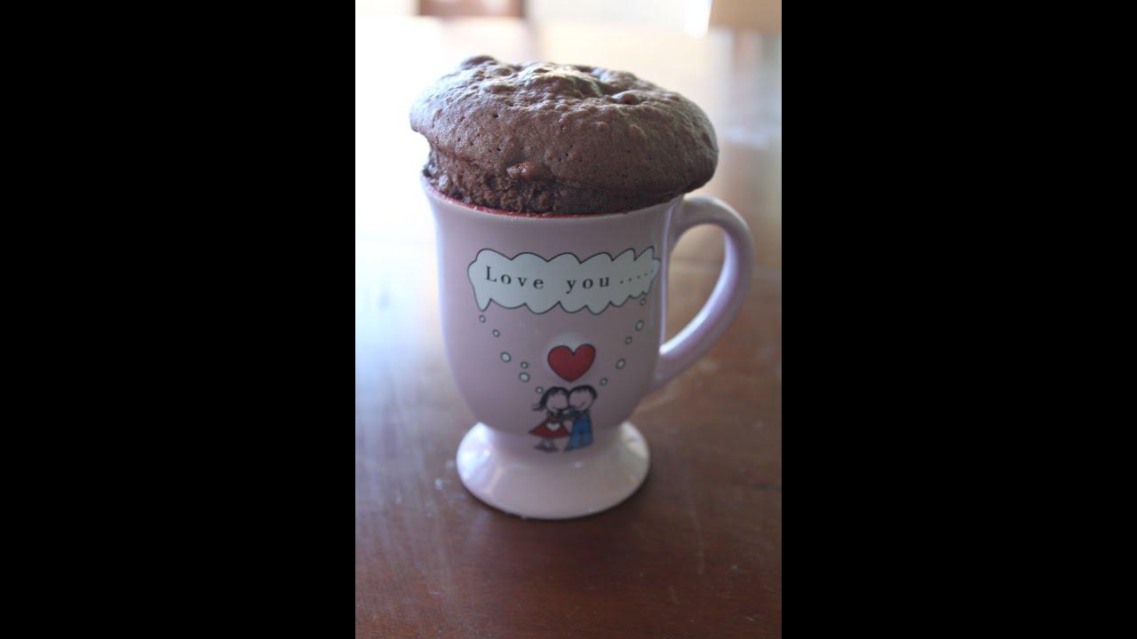 Recette de gateau au chocolat tasse