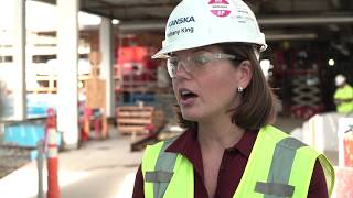 Bethany King, Project Manager, Skanska