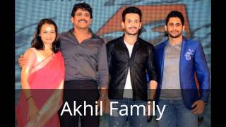 akkineni akhil family photos biography profile