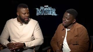 BLACK PANTHER Daniel Kaluuya & Winston Duke Interview