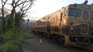 夏時間になった或る列車
