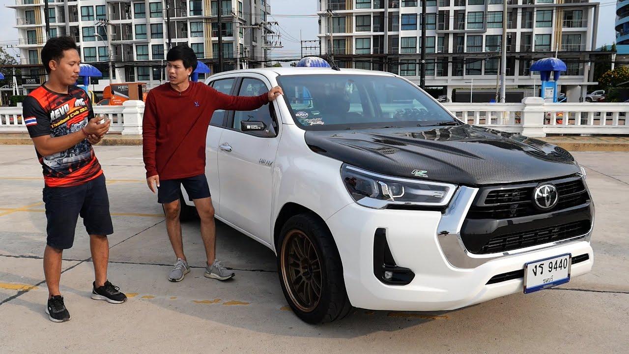 กระแสกำลังมา REVO Z-Edition โป่งใหญ่ แต่งง่าย ยิ่งแต่งยิ่งหล่อ : รถซิ่งไทยแลนด์