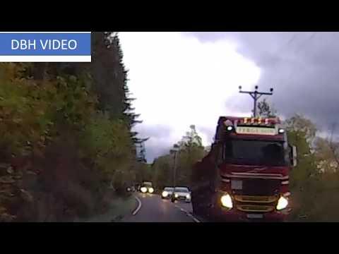 Maniac On The A82 Scotland